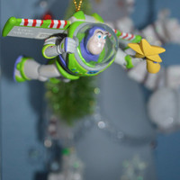 Disney Toy Story Grolier Buzz Lightyear Ornament Christmas in Box #35600-981 - RARE