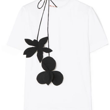 Marni - Stretch-cotton jersey T-shirt