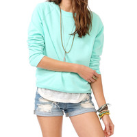Fleece Knit Pullover