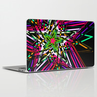 Abstract colorful stars Laptop & iPad Skin by Haroulita | Society6