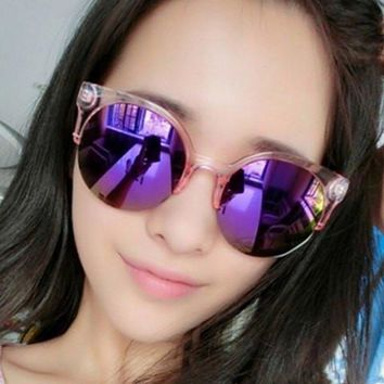 Candy Frame Color Sunglasses