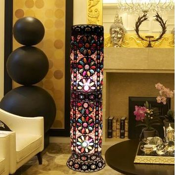 Bohemian Style Beautiful Floor Lamp