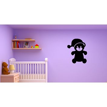 Wall Decal Bear Toy Children Room Decor Game Vinyl Sticker (ed1326)