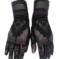 Symbolic Henna Gloves