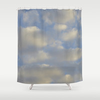Cloudy Days Shower Curtain by Stacy Frett