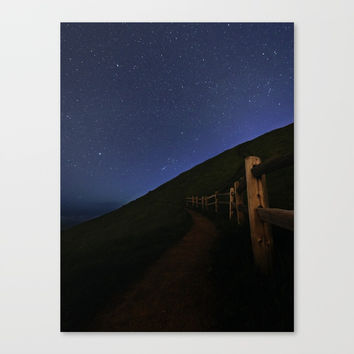 Path to the stars Canvas Print by ArtEscape