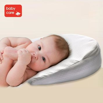 Babycare Baby Memory Foam Wedge Pillow Infant Reflux Reducer Anti Spit Milk Crib Sleep Position Nursing bed Pillow cushion pad (FREE SHIPPING)