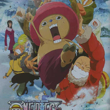 One Piece Movie: The Great Gold Pirate (Japanese) 11x17 Movie Poster (2000)