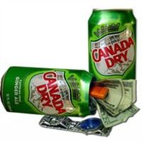 Canada Dry Ginger Ale Secret Can Safe