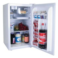 Magic Chef, 2.6 cu. ft. Mini Refrigerator in White, ENERGY STAR, HMBR265WE1 at The Home Depot - Mobile