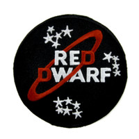 Red Dwarf Patch Iron on Applique BBC SciFi Alternative Clothing