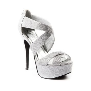 Womens Shi By Journeys Saaz Heel, Silver, at Journeys Shoes