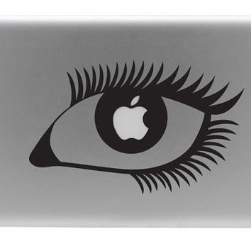 The Apple of My Eye Macbook Vinyl Decal by BengalWorks on Etsy