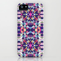 Dark Garden Tribal iPhone & iPod Case by Beth Thompson