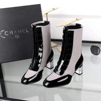 Fashion Online Chanel Women Heels Shoes Boots