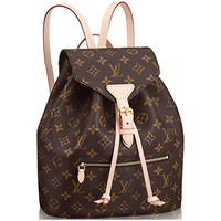 Louis Vuitton Monogram Canvas Backpack Montsouris Article : M43431 Made in France