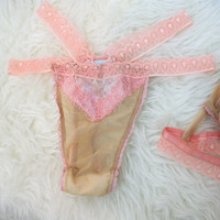 Mara Lace Showoff Thong in Ballet Flora ✨SOLD OUT✨