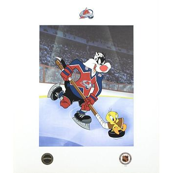 Sylvester & Tweety (Avalanche) - Limited Edition Mixed Media on Paper by Warner Bros.