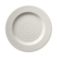 Pleated Outdoor Melamine Dinner Plates