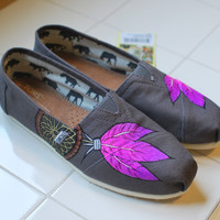 Pink Dream Catchers on Ash TOMS by BStreetShoes on Etsy