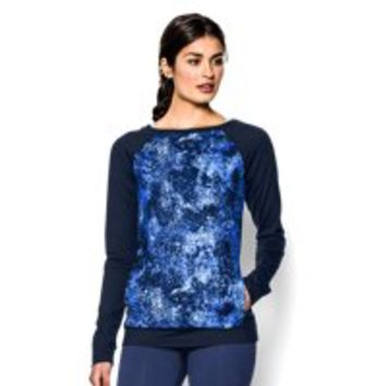 Under Armour Women's UA Take-A-Chance Printed Crew