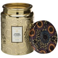 Voluspa Crane Flower Large Jar Candle