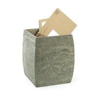 Slate Waste Basket