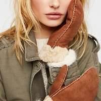Hestra Shearling Mittens