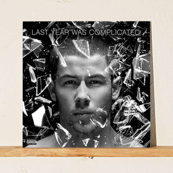 Nick Jonas - Last Year Was Complicated LP - Urban Outfitters