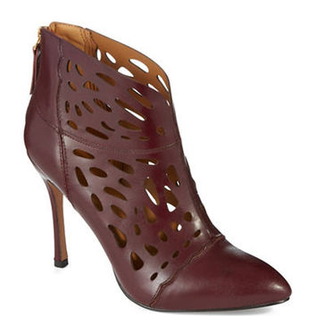 Nine West Arenne Laser Cut Ankle Boots