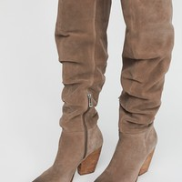 Free People Jessie Slouch Over-The-Knee Boot