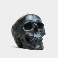 Black Skull Candle (Large) - Cool Material