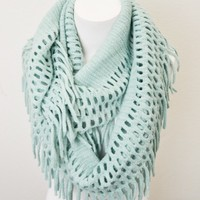 Lenore Infinity Scarf- Mint