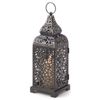 Moroccan Temple Tower Candle Holder Hanging Lantern