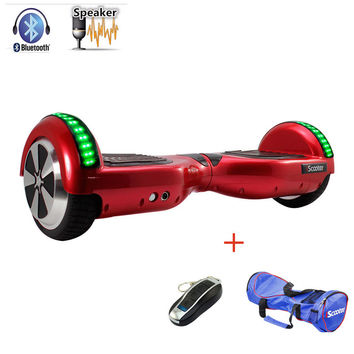 hoverboard UL2272 Bluetooth Electric Skateboard steering-wheel Smart 2 wheel self Balance Standing scooter hover board