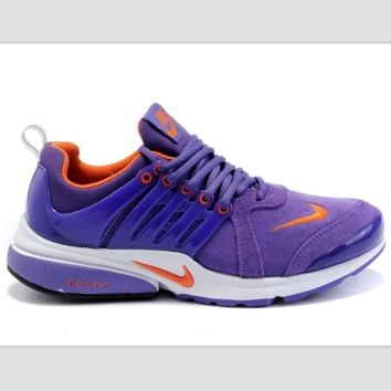 NIKE new lightweight casual shoes sports shoes Purple orange red