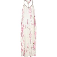 River Island Womens Pink Pacha tie dye print maxi dress
