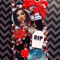 Pretty Little Liars Aria Montgomery iPhone 5c Bling Deco Case