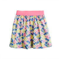 Girls' garden floral skirt - patterns - Girl's skirts - J.Crew