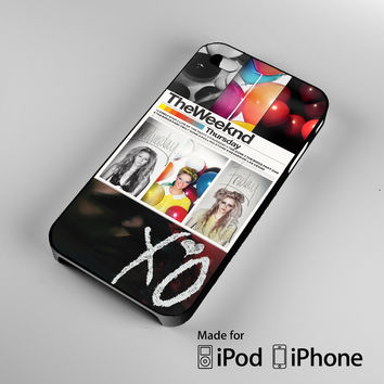 THE WEEKND THE TRILOGY XOXO OVERDOSE OVOXO A1644 iPhone 4S 5S 5C 6 6Plus, iPod 4 5, LG G2 G3, Sony Z2 Case