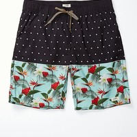 Lira Papa Dot Boardshorts - Mens Board Shorts - Green