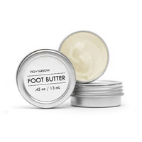 ALPINE FOOT BUTTER {TRIAL//TRAVEL}
