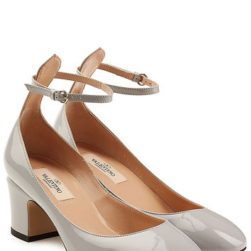 Valentino - Patent Leather Tan-Go Pumps