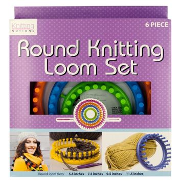 Round Knitting Loom Set Case Pack 2