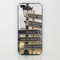 Paris Adventure  iPhone & iPod Skin by AuFish92024 | Society6