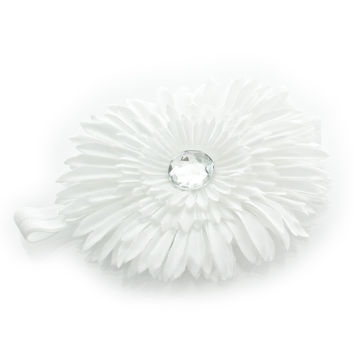 Girls Daisy Flower Headband