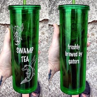 16 oz SWAMP FAMILY TEA cup by enmortem on Etsy