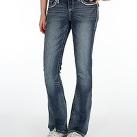 Women's Factory Second Lynx Boot Stretch Jean in Blue by Daytrip.