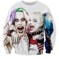 Joker And Harley Quinn Sweat Shirt
