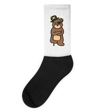 pirate bear Socks